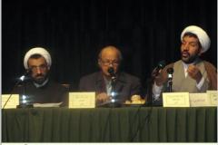 حجت الاسلام پارسانیا و دکتر کاردان در کرسی نظریه پردازی دانشگاه تهران